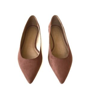 ASOS | Blush Beige Pointed Toe Flats